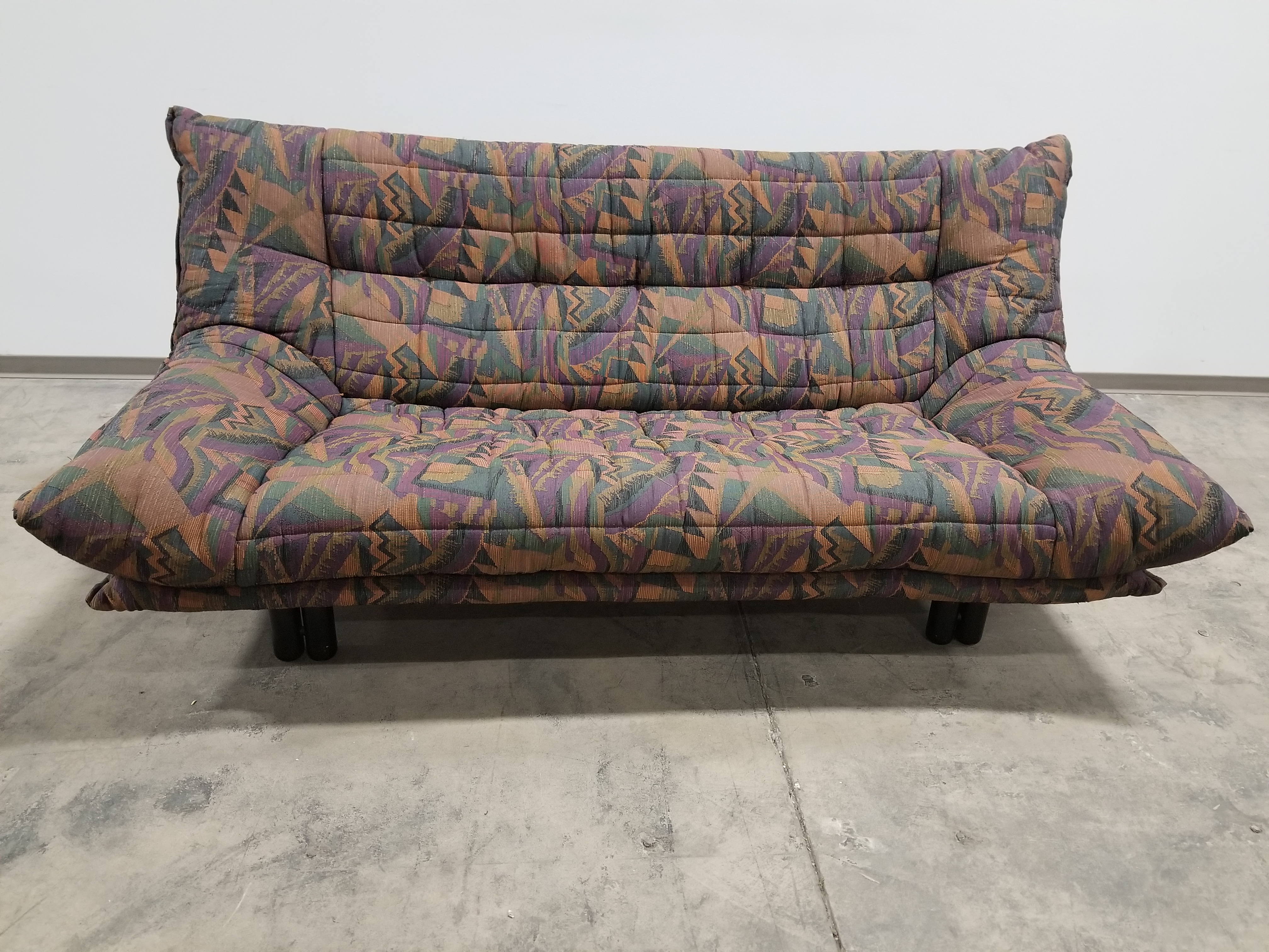 Pattern Contemporary Armless Sofa