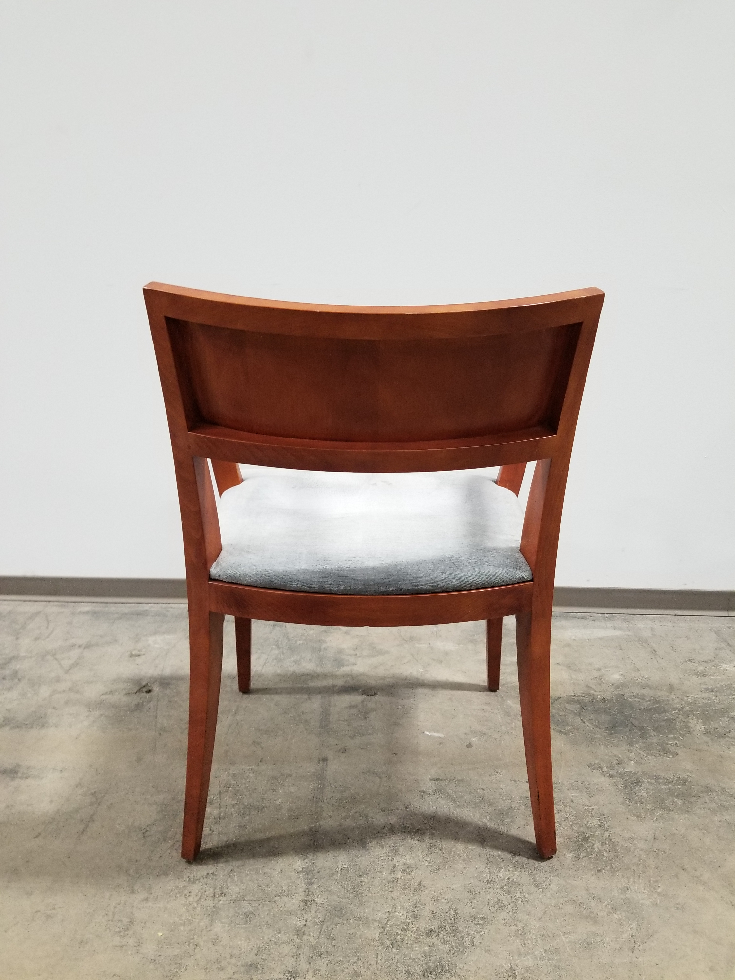 Knoll Crinion Wood Guest Side Chairs Variety Of Fabric