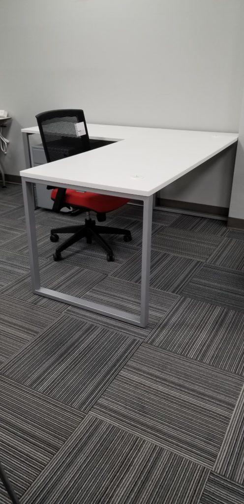 Elments White L Shape Desk 72 Quot X66 Quot Office Furniture