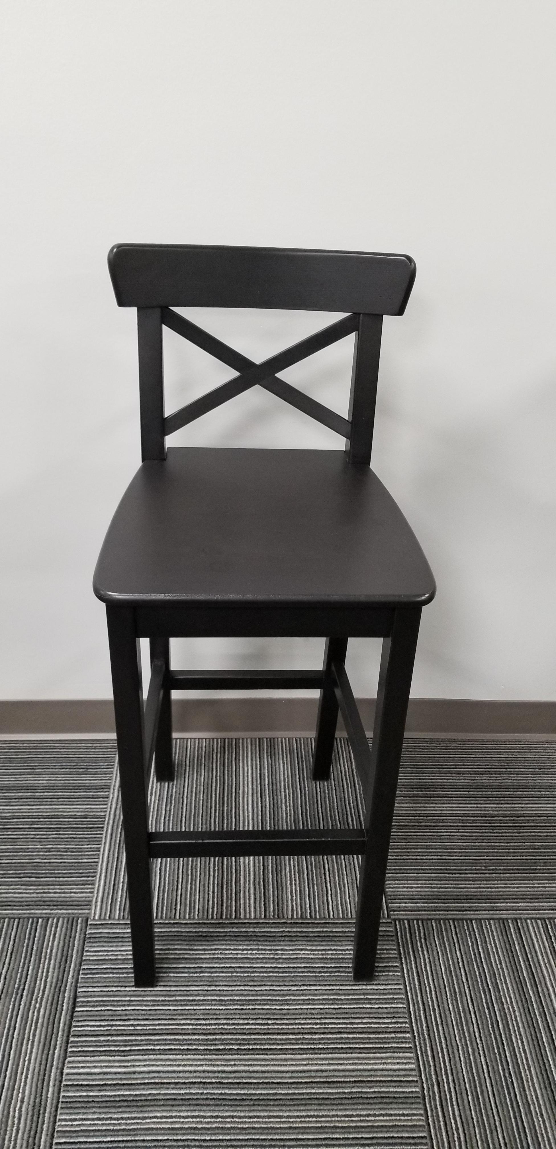 Super Black Wood Bar Stool Spiritservingveterans Wood Chair Design Ideas Spiritservingveteransorg